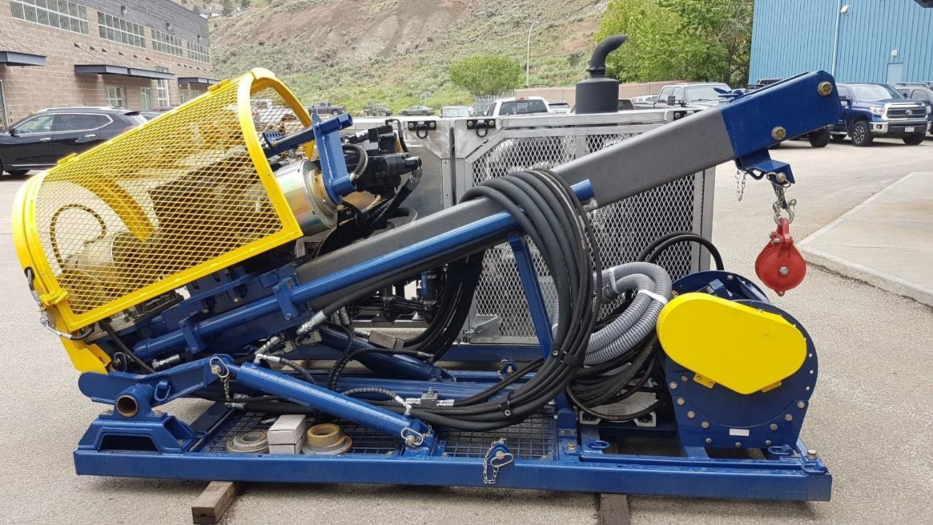 Буровое оборудование для геологоразведки.